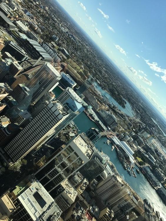 Utsikt over Darling Harbour